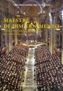 Copertina di 'Maestri di discernimento'