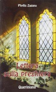 Copertina di 'Lettera sulla preghiera'