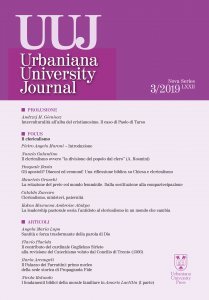 Copertina di 'Urbaniana University Journal 2019 - 3. Il Clericalismo'