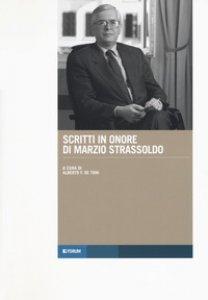 Copertina di 'Scritti in onore di Marzio Strassoldo'