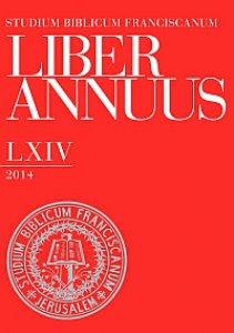 Copertina di 'Liber Annuus LXIV-2014'
