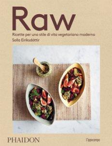 Copertina di 'Raw. Ricette per uno stile di vita vegetariano moderno'
