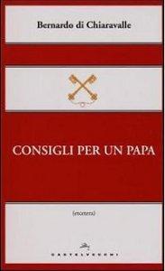Copertina di 'Consigli per un papa.'