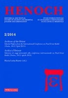 Henoch. Vol. 36. N. 2/2014: Archives of the Oriente. Selected Papers from the International Conference on Paul Ernst Kahle