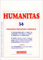 Humanitas (2006) vol. 5-6: Pensiero religioso liberale - AA.VV.