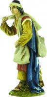Pastore viandante per presepe cm 10 - Linea Martino Landi di  su LibreriadelSanto.it