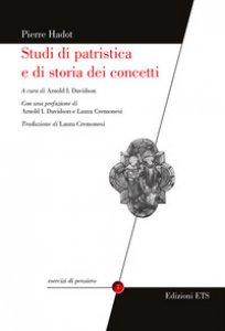 Copertina di 'Studi di patristica e di storia dei concetti'