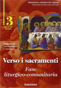 Copertina di 'Verso i sacramenti: fase liturgico-comunitaria'