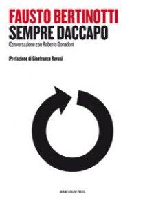 Copertina di 'Sempre daccapo. Globalizzazione, socialismo, cristianesimo'