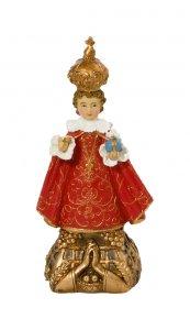 """Copertina di 'Statuina in resina """"Gesù Bambino di Praga"""" - altezza 15 cm'"""