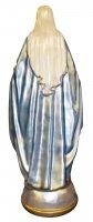 Immagine di 'Statua Madonna Miracolosa in gesso madreperlato dipinta a mano - 80 cm'