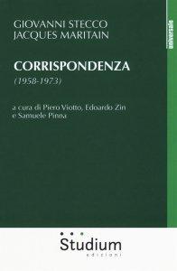 Copertina di 'Corrispondenza (1958-1973)'