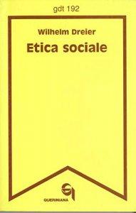 Copertina di 'Etica sociale (gdt 192)'