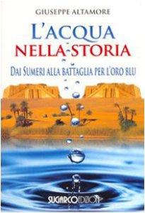 Copertina di 'L'acqua nella storia. Dai Sumeri alla battaglia per l'oro blu'
