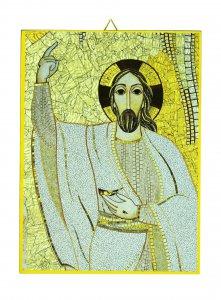 Copertina di 'Quadro stampa cm 10,8 x 14,5 - Cristo di Padre Rupnik'