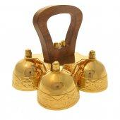 Campana con manico in legno 4 suoni
