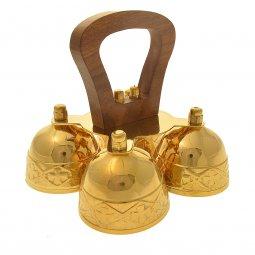 Copertina di 'Campana con manico in legno 4 suoni'