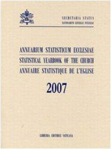 Copertina di 'Annuarium Statisticum 2007'
