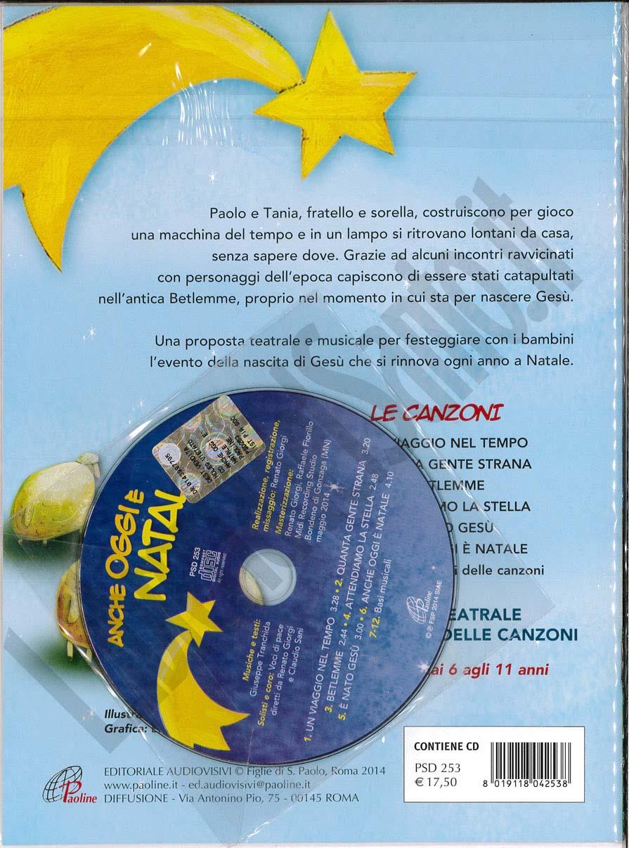 La Stella Di Natale Canzone.Anche Oggi E Natale Libro Cd Giuseppe Tranchida Cd Musica
