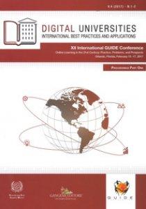 Copertina di 'Digital universities. International best practices and applications (2017). Vol. 1-2'