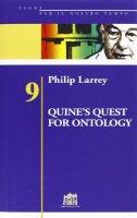 Quine's Quest for Ontology - Larrey Philip