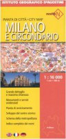 Milano e circondario 1:16 000. Ediz. multilingue