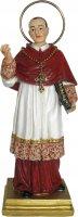 Statua San Carlo da 12 cm in confezione regalo con immaginetta di  su LibreriadelSanto.it