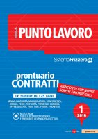 Il Punto Lavoro 1/2019 - Prontuario Contratti con CD Rom - AA.VV.