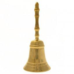 Copertina di 'Campanello in ottone dorato - altezza 15 cm'