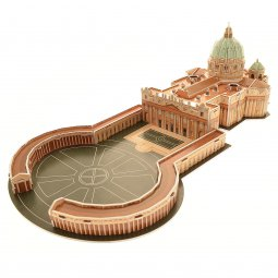 Copertina di 'CubicFun 3D - Basilica di San Pietro 56 Pezzi'