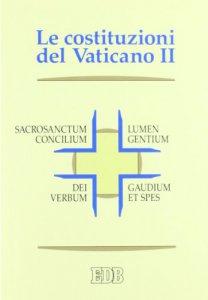 Copertina di 'Costituzioni del Concilio Vaticano II'