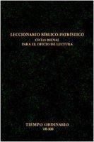 Leccionario biblico-patristico. Ciclo bienal para el oficio de lectura [vol_5] / Tiempo ordinario VII-XIII