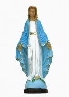 Statua Madonna Miracolosa in materiale infrangibile dipinta a mano - cm 16 di  su LibreriadelSanto.it