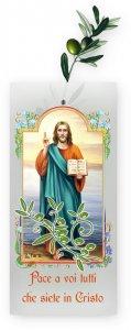 """Copertina di 'Busta porta ulivo """"Cristo Pantocratore"""" - 200 pezzi'"""