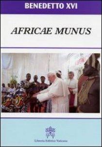 Copertina di 'Africae Munus. Esortazione Apostolica. Ediz. portoghese'