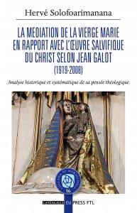 Copertina di 'La mediation de la Vierge Marie'