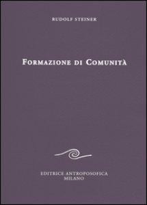 Copertina di 'Formazione di comunità'