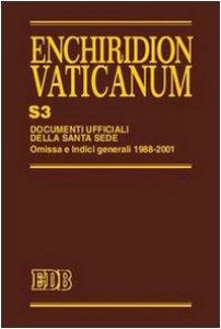 Copertina di 'Enchiridion Vaticanum. S3'