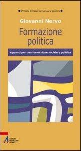 Copertina di 'Formazione politica'