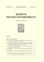 A Franciscan contribution to the De gestis Britonum (1205-1279), and its continuation to 1299  (265-313) - Michael Robson