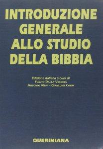 Copertina di 'Introduzione generale allo studio della Bibbia'