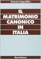 Il matrimonio canonico in Italia