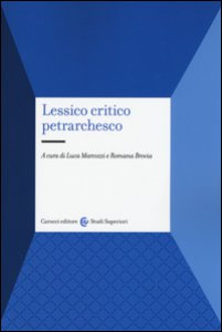 Copertina di 'Lessico critico petrarchesco'