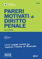 Pareri Motivati di Diritto Penale - Fabio Visco