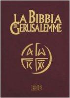 La Bibbia di Gerusalemme (copertina in pelle color testa di moro)