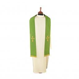 Copertina di 'Stola verde con croce stilizzata'