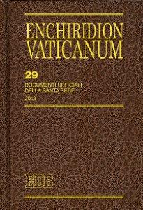 Copertina di 'Enchiridion Vaticanum 29'