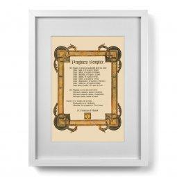 Copertina di 'Quadro Preghiera Semplice (30x40)'
