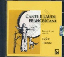 Copertina di 'Canti e laudi francescani'