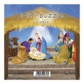 """Immagine di 'Mini puzzle """"Presepe"""" stile classico - 12 pezzi'"""